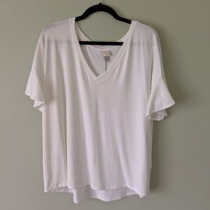 NWT A New Day Oversized White T-shirt